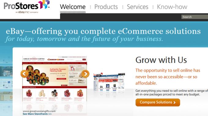 ProStores Review – DIY E-commerce solution